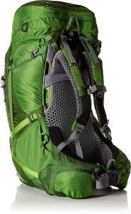 Osprey Atmos 65 very comfortable lightweight backpack