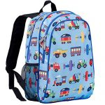 Wlidkin Planes Trains and Autombiles backpack