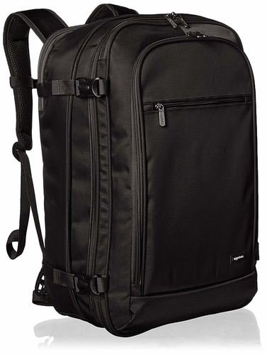 The AmazonBasics is an affordable choice as a travel backpack