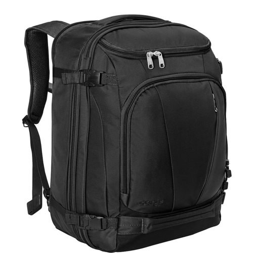 Runner up for the best carry on backpack is the eBags TLS Mother Lode travel backpack