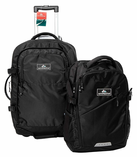 The Hypath 2-in-1 travel pack gives you two bags for the price of one. Ideal for those overnight work trips