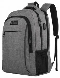 Our best value travel backpack is the MATEIN travel laptop backpack