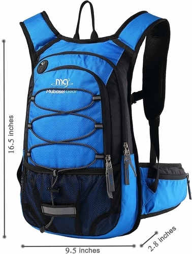 Our winner for the best day hike backpack is the Mubasel Gear hydration pack