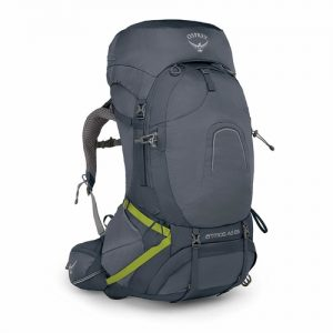 The Osprey Atmos 65L is an excellent example of a modern day hiking backpack with 65 liter capacity