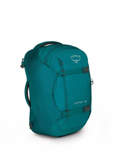 Our choice for the best travel backpack is the Osprey Porter 46 Travel pack