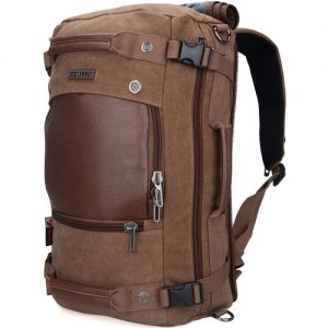 WITZMAN Men travel backpack stylish and functional for all your travel needs