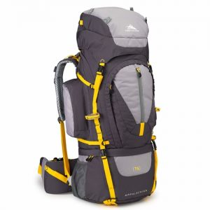 High Sierra Appalachian backpack is a good example of an extra large pack suitable for a multiday hike