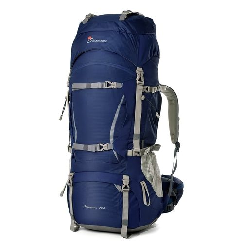 The Mountaintop 70L hiking backpack is suitable for those longer hikes.