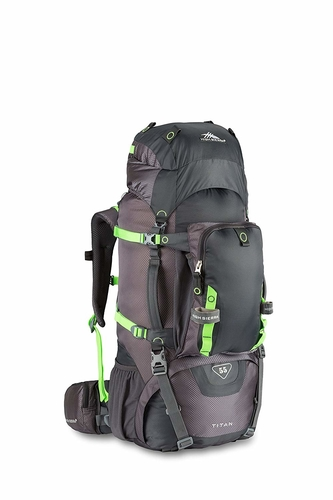 At 55L the High Sierra Titan backpack is ideal for those 2 to 3 day treks