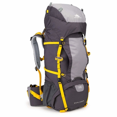 High Sierra Titan backpack comes in two sizes 55L and 65L for those long treks