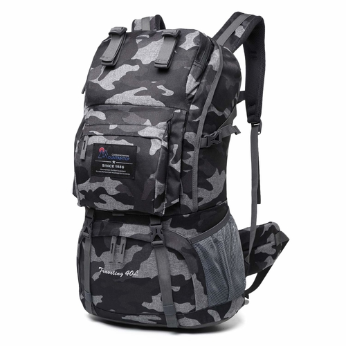 The 40 liter hiking backpack by Mountaintop is one of the best backpacks for weekend hiking