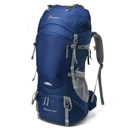 This 55 liter Mountaintop backpack is ideal for a week long trekking adventure