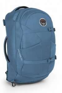 This backpack can be used for your daily commute or for a weekend trek