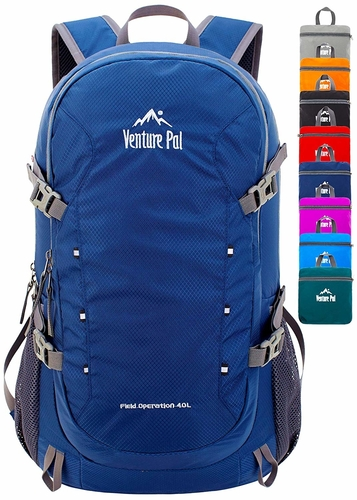 The 40L Venture Pal backpack is ideal for a short day or weekend hike